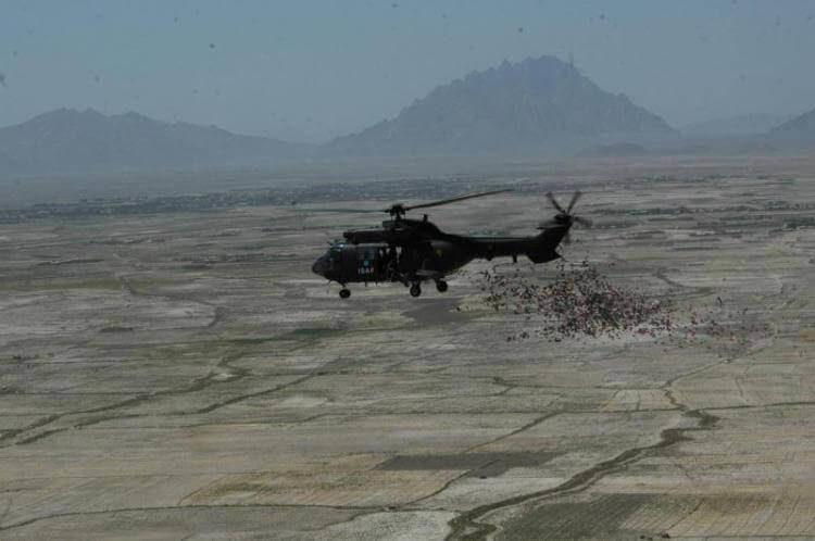 Il 28° reggimento Comunicazioni Operative Pavia durante un'operazione in Afghanistan