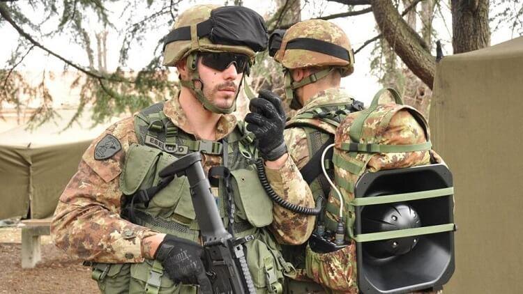 """Operativo del 28° reggimento Comunicazioni Operative """"Pavia"""""""