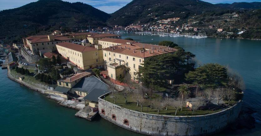 La Fortezza di Varignano a Portovenere, sede del GOI Comsubin. Foto di Alessandro Beltrame, Courtesy FAI