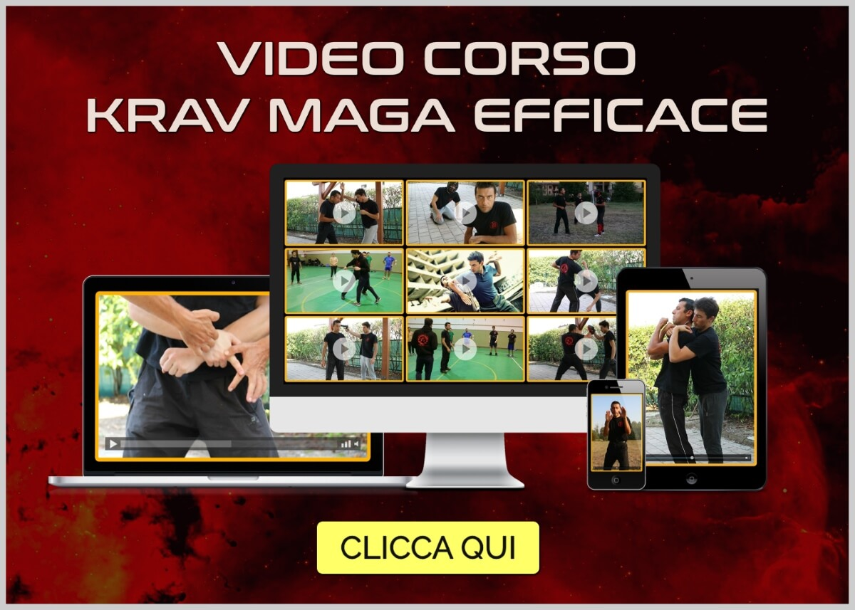video corso krav maga efficace
